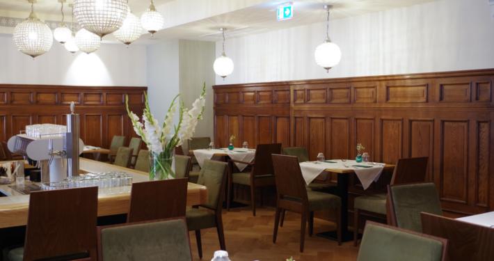 Schank und Restaurant