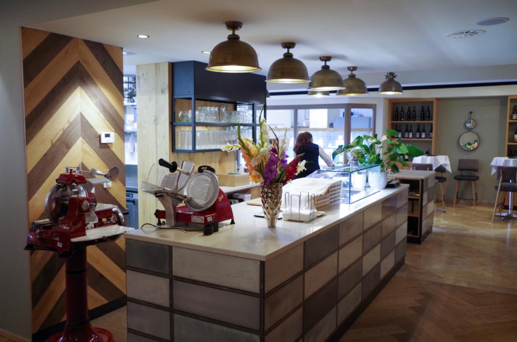 Überblick Cafe